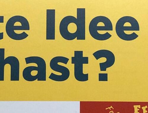 Gute Idee du hast?