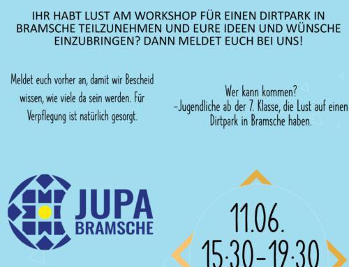 Workshop zum Dirtpark in Bramsche
